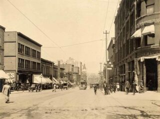 Intersection, Granville and Georgia, 1912.